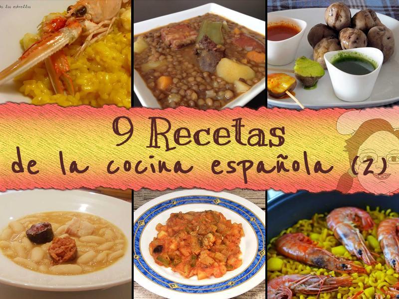 recetas cocina española parte 2