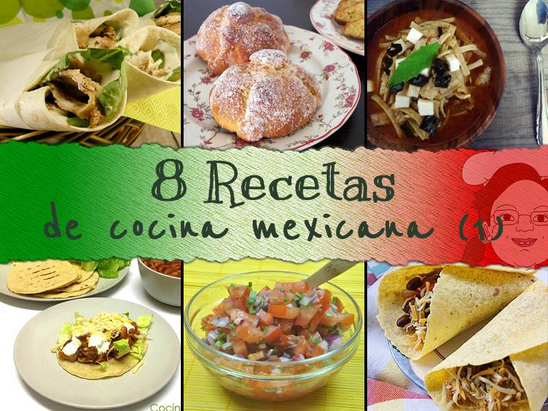 recetas cocina mexicana parte 1