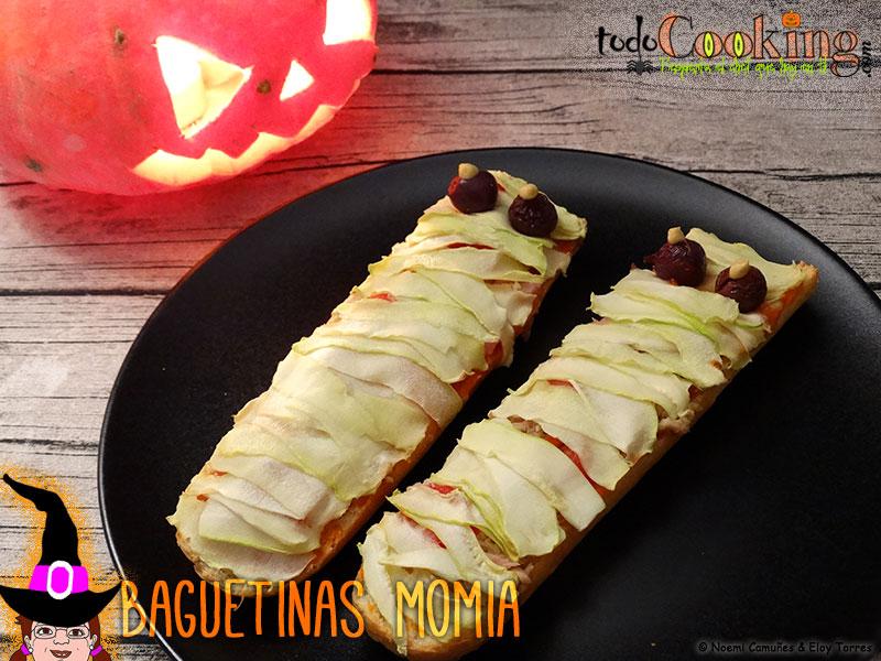 Baguetinas momia Halloween