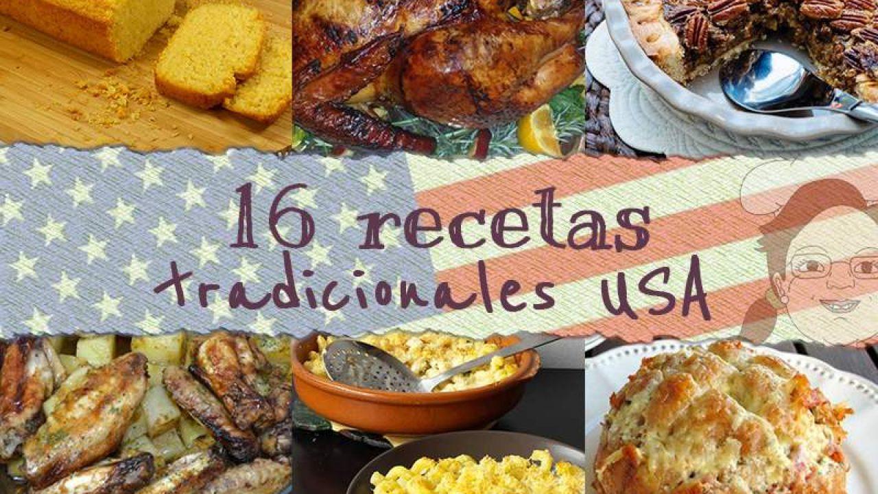 16 Recetas Tradicionales De Estados Unidos De América O