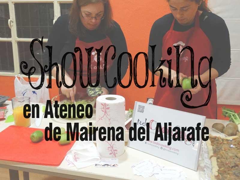 ShowCookingAteneoMairena