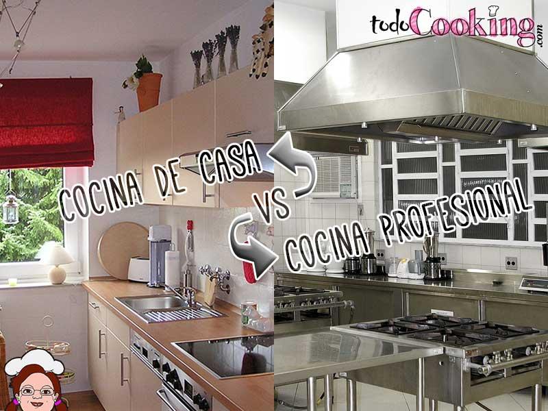 En que se diferencia la cocina de tu casa de una cocina for Cocina industrial hogar