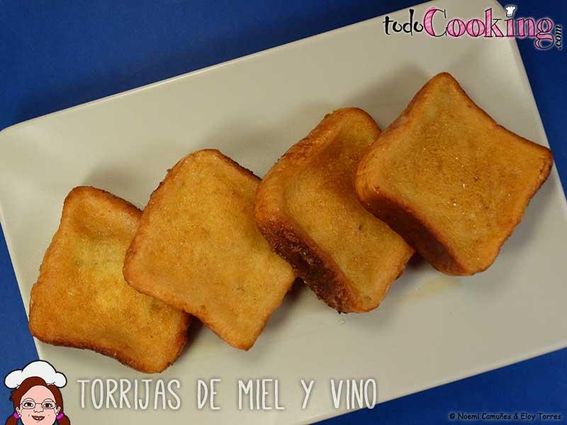 Torrijas-de-Miel-y-Vino - postres para semana santa