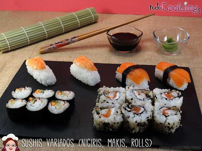 Cómo Hacer Sushi Fácil En Casa Makis Nigiris Y California