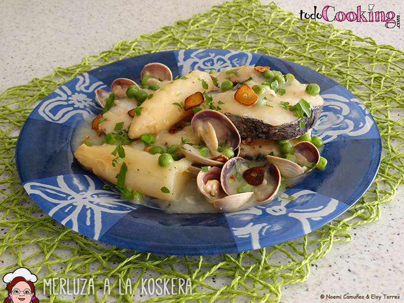 merluza a la koskera o salsa verde