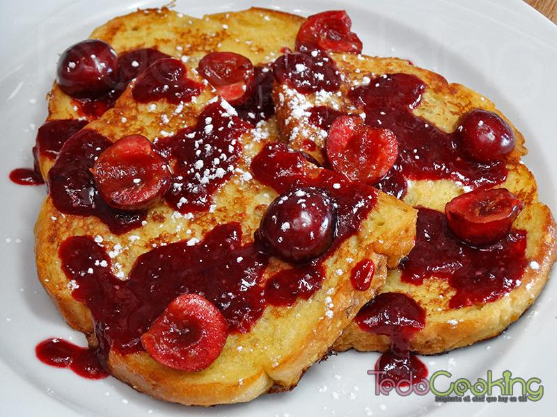 Tostada francesa o french toast