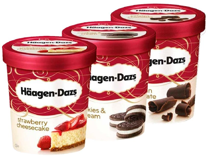 Häagen Dazs Vasitos