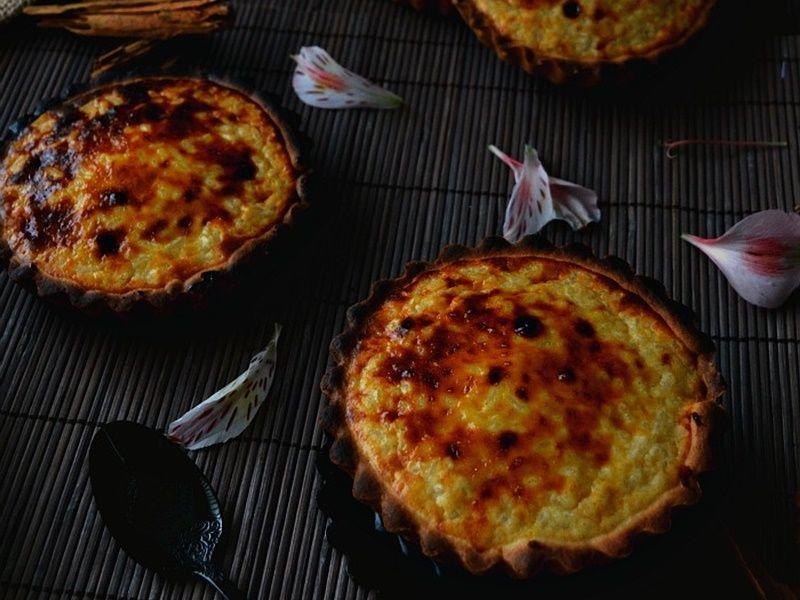 Pasteles de arroz belgas