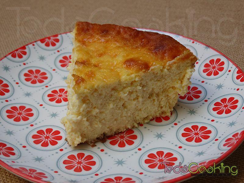 Tarta de queso mascarpone y limón