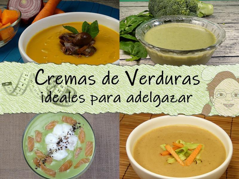 Cremas de verduras para adelgazar