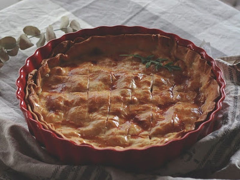 Chicken Pie - Pastel de pollo