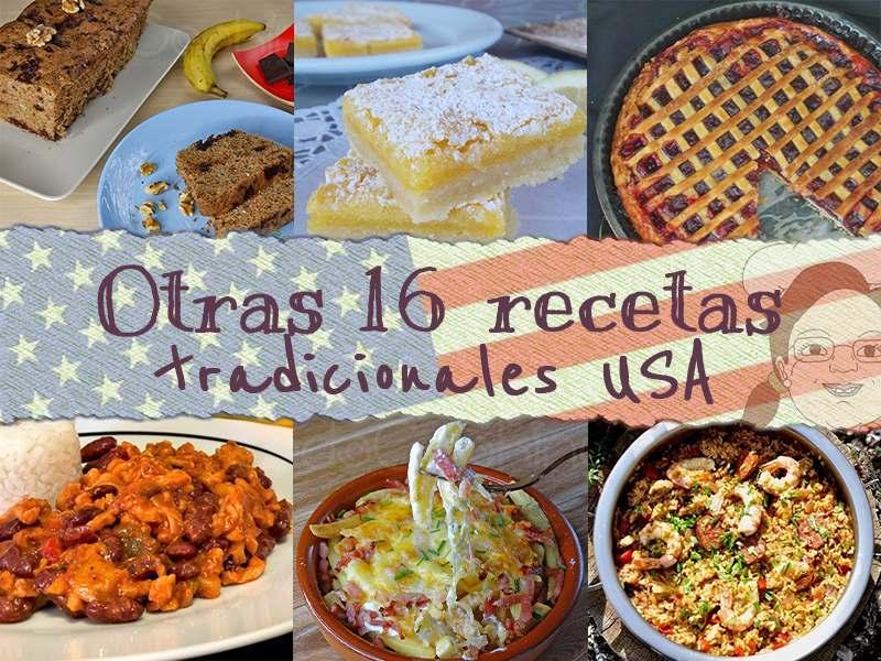 Otras 16 Recetas Tradicionales Estados Unidos