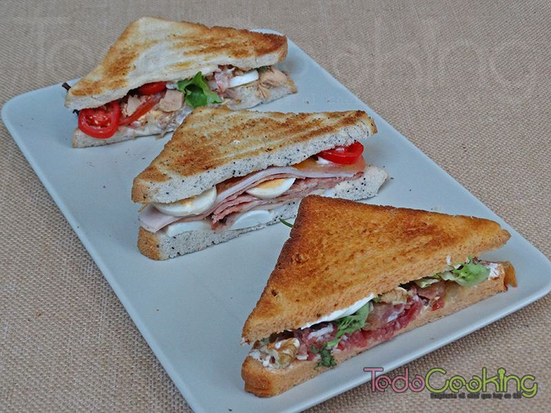 3 ideas para sandwiches