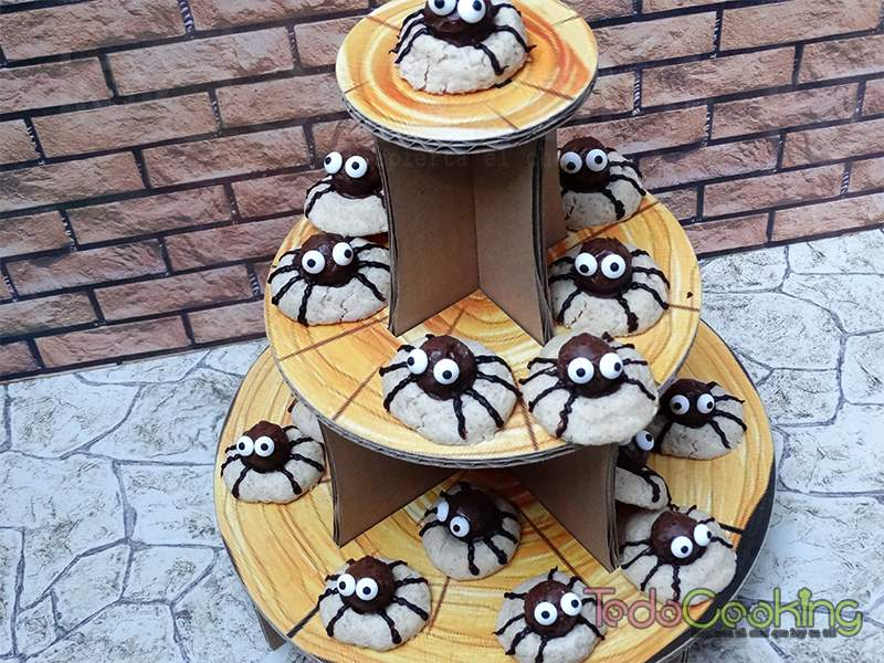 Galletas araña