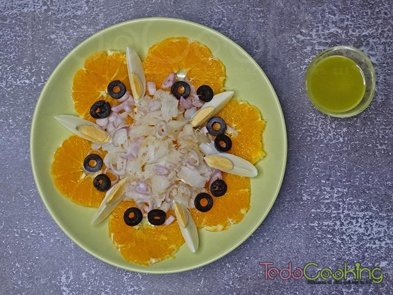 Remojon andaluz Ensalada de bacalao con naranja 04